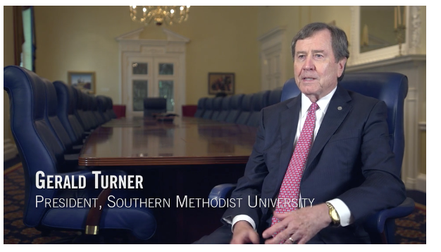 Gerald Turner, President of SMU
